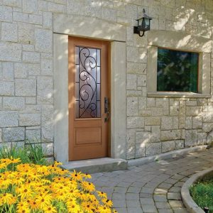 Masonite Doors Stone Wall