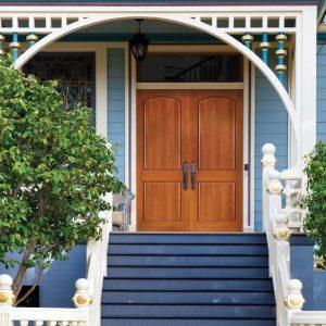 Masonite Doors Blue House